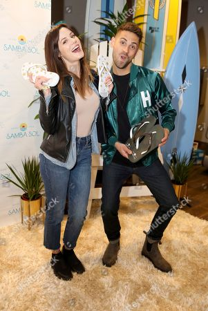 Jean-Luc Bilodeau, Chelsea Hobbs. Chelsea Hobbs, left, and Jean-Luc Bilodeau attend Day 2 of the Kari Feinstein Style Lounge at the Andaz Hotel on in West Hollywood, Calif