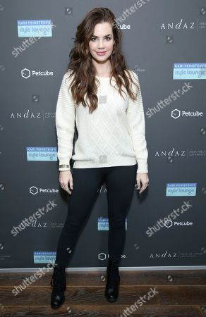 Stock Image of Jillian Murray attends Day 1 of the Kari Feinstein Style Lounge at the Andaz Hotel on in West Hollywood, Calif