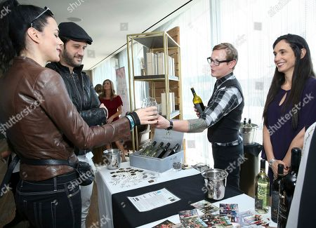 Stefan Kapicic, Ivana Horvat. Ivana Horvat, left, and Stefan Kapicic attend Day 1 of the Kari Feinstein Style Lounge at the Andaz Hotel on in West Hollywood, Calif