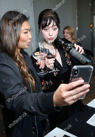 Alessandra Torresani, Jenna Ushkowitz. Alessandra Torresani, right, and Jenna Ushkowitz attend Day 1 of the Kari Feinstein Style Lounge at the Andaz Hotel on in West Hollywood, Calif