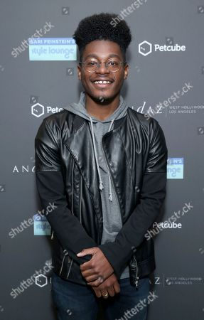Stock Image of Kamil McFadden attends Day 1 of the Kari Feinstein Style Lounge at the Andaz Hotel on in West Hollywood, Calif