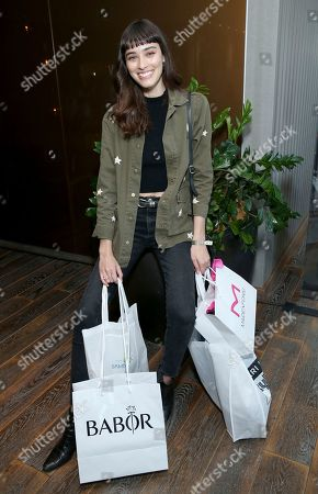 Margaux Brooke attends Day 1 of the Kari Feinstein Style Lounge at the Andaz Hotel on in West Hollywood, Calif