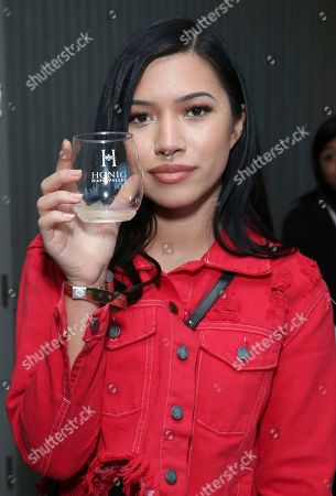 Stock Image of Julia Kelly attends Day 1 of the Kari Feinstein Style Lounge at the Andaz Hotel on in West Hollywood, Calif