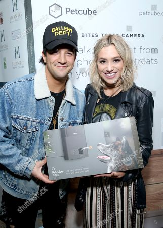 Mark Ballas, BC Jean. Mark Ballas, left, and BC Jean attend Day 1 of the Kari Feinstein Style Lounge at the Andaz Hotel on in West Hollywood, Calif