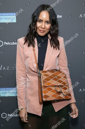 Stock Picture of Taye Hansberry attends Day 1 of the Kari Feinstein Style Lounge at the Andaz Hotel on in West Hollywood, Calif