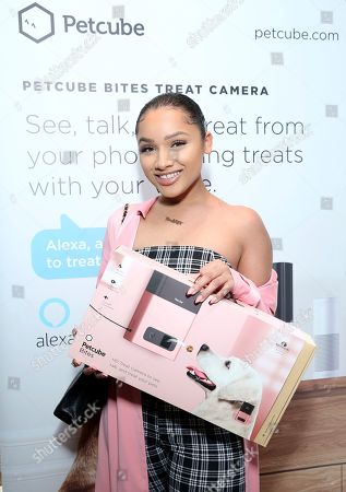 Jaylen Barron attends Day 1 of the Kari Feinstein Style Lounge at the Andaz Hotel on in West Hollywood, Calif
