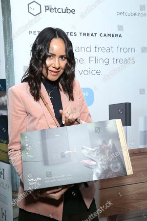 Stock Image of Taye Hansberry attends Day 1 of the Kari Feinstein Style Lounge at the Andaz Hotel on in West Hollywood, Calif