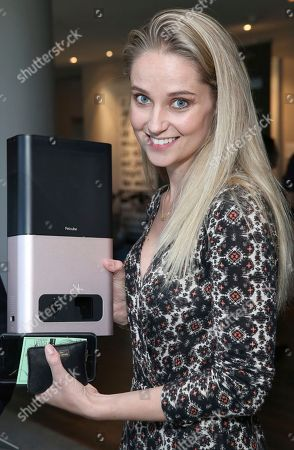 Stock Image of Genevieve Morton attends Day 1 of the Kari Feinstein Style Lounge at the Andaz Hotel on in West Hollywood, Calif