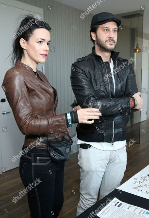 Stefan Kapicic, Ivana Horvat. Stefan Kapicic, right, and Ivana Horvat attend Day 1 of the Kari Feinstein Style Lounge at the Andaz Hotel on in West Hollywood, Calif