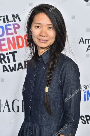 Chloe Zhao, winner of the Bonnie Award for 'The Rider'