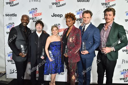 Rob Morgan, Billy Hopkins, Ashley Ingram, Dee Rees, Jason Clarke and Garrett Hedlund, 'Mudbound' - Robert Altman Award