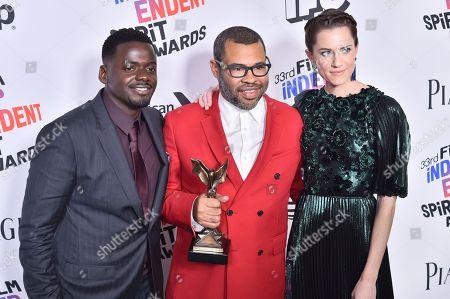 Editorial photo of 33rd Film Independent Spirit Awards, Press Room, Los Angeles, USA - 03 Mar 2018