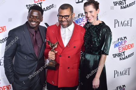 Editorial picture of 33rd Film Independent Spirit Awards, Press Room, Los Angeles, USA - 03 Mar 2018