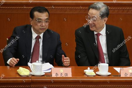 Li Keqiang and Yu Zhengsheng
