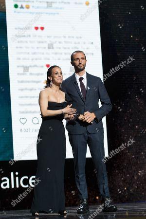 Alice Belaidi and Arie Elmaleh