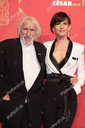 Pierre Richard and Sophie Marceau.