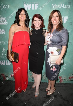 Jane Fleming, Kate Flannery, Kirsten Schaffer