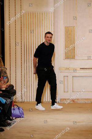 Guillaume Henry on the catwalk