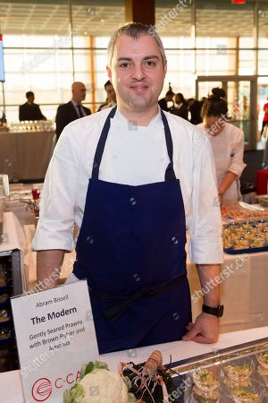 Chef Abram Bissell participates in the C-CAP (Careers through Culinary Arts Program) annual benefit at Pier Sixty, in New York