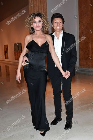 Eva Grimaldi and Imma Battaglia