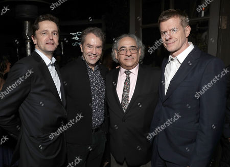 Producer Peter Czernin, Composer Carter Burwell, Fox Searchlight President Steve Gilula and Producer Graham Broadbent