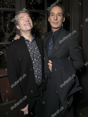 Composer Carter Burwell and Composer Alexandre Desplat