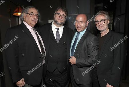 Fox Searchlight President Steve Gilula, Director Guillermo Del Toro, Producer J. Miles Dale, and Cinematographer Dan Laustsen