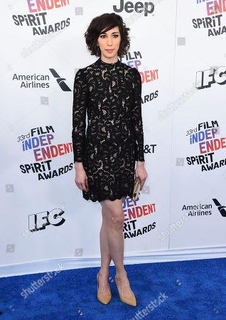 Editorial image of 2018 Film Independent Spirit Awards - Arrivals, Santa Monica, USA - 03 Mar 2018