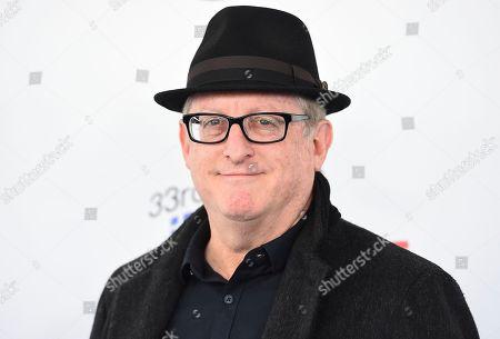 Uri Singer arrives at the 33rd Film Independent Spirit Awards, in Santa Monica, Calif
