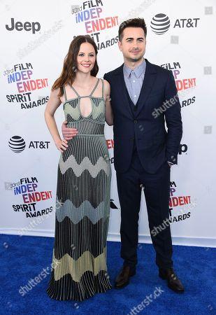 Sarah Ramos, Matt Spicer. Sarah Ramos, left, and Matt Spicer arrive at the 33rd Film Independent Spirit Awards, in Santa Monica, Calif