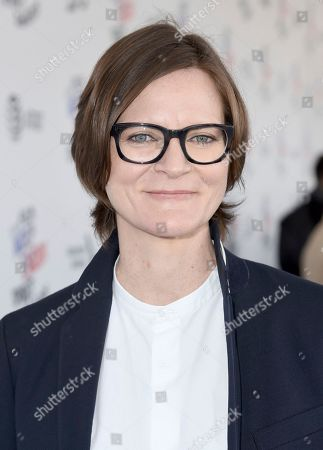 Stock Photo of Ingrid Jungermann arrives at the 33rd Film Independent Spirit Awards, in Santa Monica, Calif