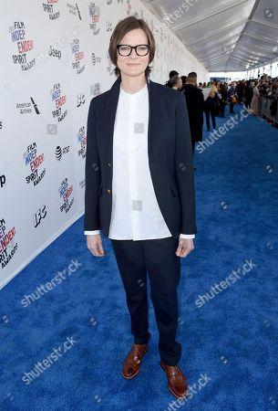 Stock Image of Ingrid Jungermann arrives at the 33rd Film Independent Spirit Awards, in Santa Monica, Calif