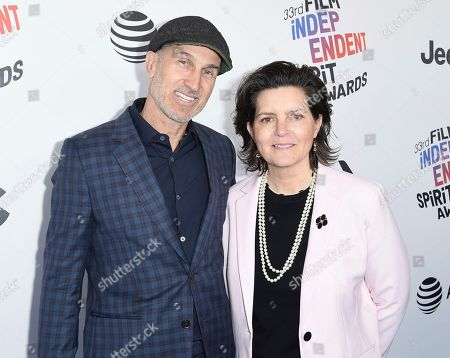 Craig Gillespie, Tatiana S. Riegel. Craig Gillespie, left, and Tatiana S. Riegel arrive at the 33rd Film Independent Spirit Awards, in Santa Monica, Calif