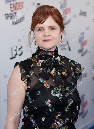 Summer Shelton arrives at the 33rd Film Independent Spirit Awards, in Santa Monica, Calif