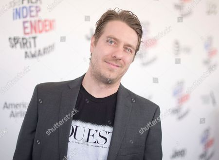 Jonathan Olshefski arrives at the 33rd Film Independent Spirit Awards, in Santa Monica, Calif