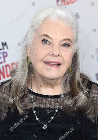 Lois Smith arrives at the 33rd Film Independent Spirit Awards, in Santa Monica, Calif