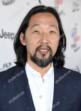 Kogonada arrives at the 33rd Film Independent Spirit Awards, in Santa Monica, Calif