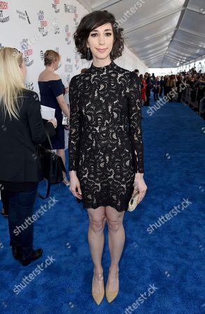 Lana Wilson arrives at the 33rd Film Independent Spirit Awards, in Santa Monica, Calif