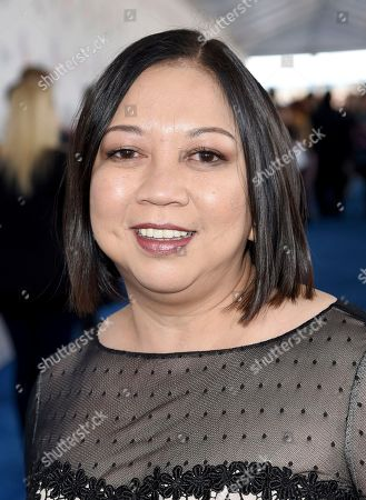 Ramona S. Diaz arrives at the 33rd Film Independent Spirit Awards, in Santa Monica, Calif