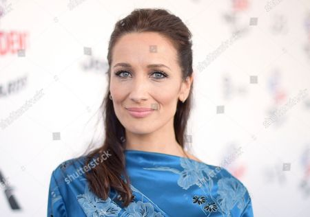 Stock Picture of Ana Asensio arrives at the 33rd Film Independent Spirit Awards, in Santa Monica, Calif
