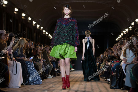Editorial photo of Talbot Runhof - Runway - Paris Fashion Week Ready to Wear F/W 2018/2019, France - 03 Mar 2018