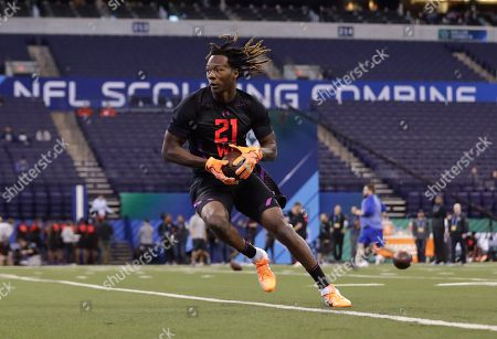 Editorial picture of NFL Combine Football, Indianapolis, USA - 03 Mar 2018