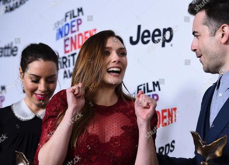 Editorial picture of 2018 Film Independent Spirit Awards - Press Room, Santa Monica, USA - 03 Mar 2018