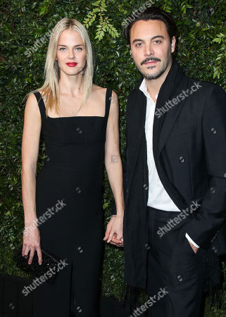 Editorial photo of Chanel and Charles Finch Pre-Oscar dinner, Arrivals, Los Angeles, USA - 03 Mar 2018