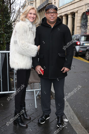 Ronaldo with Celina Locks