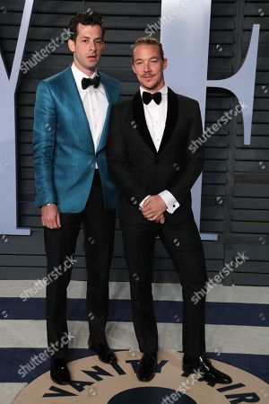 Stock Picture of Mark Ronson and Diplo
