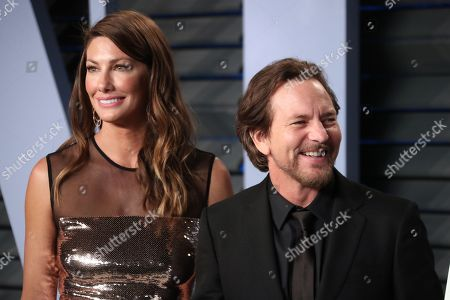 Stock Photo of Jill McCormick and Eddie Vedder