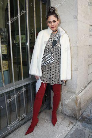 Araya Alberta Hargate, Dior