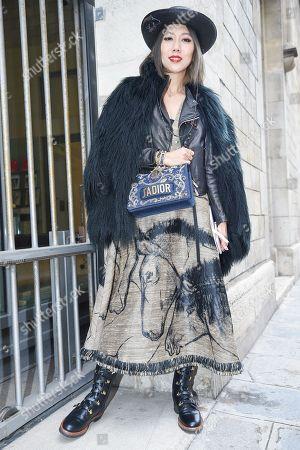 Stock Image of Faye Tsui, Dior