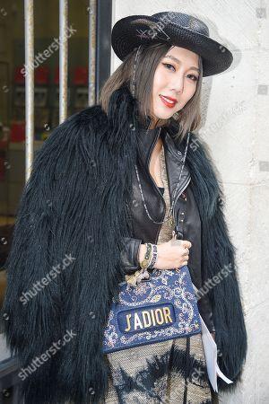 Stock Picture of Faye Tsui, Dior